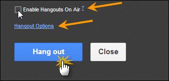 Starting G+ Hangout